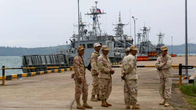 Cambodia's PM Hun Sen Says Expanded Naval Base to be For Use by 'Any Country'