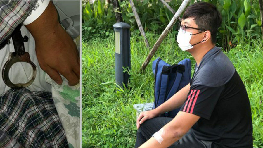 'I Was Arrested at a National Day Protest in Hong Kong'